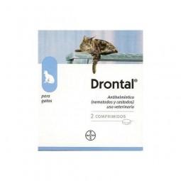 Bayer Drontal Antiparasitário Gato 4 kg - 2 comprimidos - comprar Bayer Drontal Antiparasitário Gato 4 kg - 2 comprimidos onl...