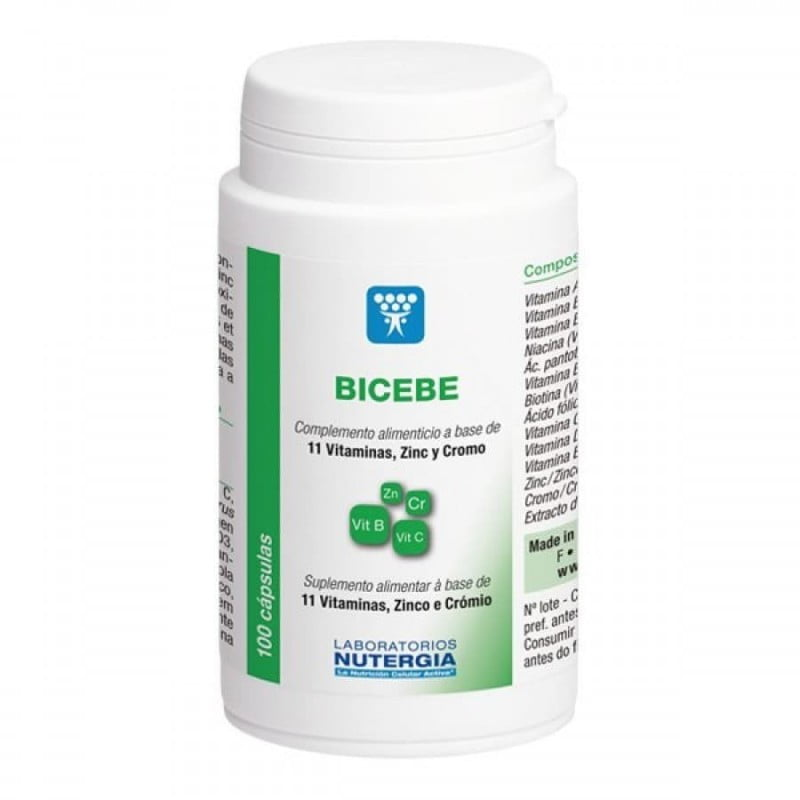 Nutergia Bicebe - 100 Cápsulas - comprar Nutergia Bicebe - 100 Cápsulas online - Farmácia Barreiros - farmácia de serviço