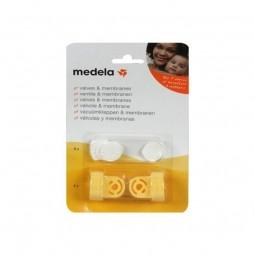 Medela Pack Válvulas e Membranas - 2 válvulas amarelas + 6 membranas brancas - comprar Medela Pack Válvulas e Membranas - 2 v...