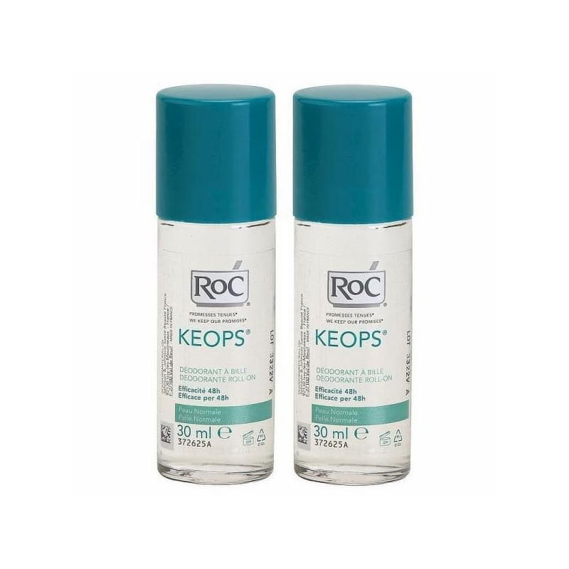 RoC Keops Desodorizante Roll-On Duo - 2 x 30 mL - comprar RoC Keops Desodorizante Roll-On Duo - 2 x 30 mL online - Farmácia B...