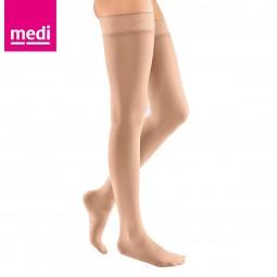 Medi Mediven Elegance Raiz da Coxa Curta Tamanho 1 Cor Bege Referência 290 - 1 par de meias - comprar Medi Mediven Elegance R...