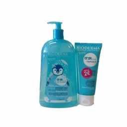 Bioderma ABCDerm Pack Gel Moussant + Leite Hidratante - 1 L + 200 mL - comprar Bioderma ABCDerm Pack Gel Moussant + Leite Hid...