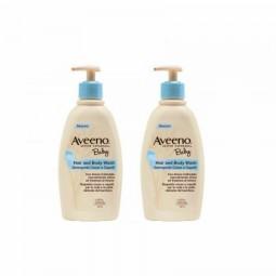 Aveeno Baby Banho Corpo e Cabelo Duo c/ Desconto 10€ - 2 x 300 mL - comprar Aveeno Baby Banho Corpo e Cabelo Duo c/ Desconto ...