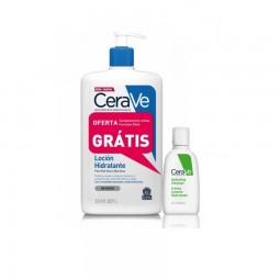 CeraVe Kit Descobertas Loção Hidratante c/ Oferta Creme de Limpeza Hidratante - 236 mL + 20 mL - comprar CeraVe Kit Descobert...