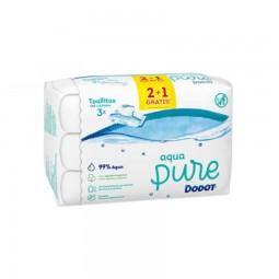Dodot Pack Aqua Pure Toalhitas 2+1 - 3 x 48 toalhitas - comprar Dodot Pack Aqua Pure Toalhitas 2+1 - 3 x 48 toalhitas online ...