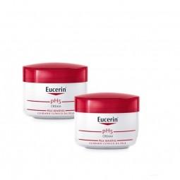 Eucerin Pele Sensível pH5 Creme Intensivo c/ Desconto 50% 2ª Embalagem - 2 x 75 mL - comprar Eucerin Pele Sensível pH5 Creme ...