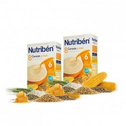 Nutribén 8 Cereais e Mel Duo - 2 x 300 g - comprar Nutribén 8 Cereais e Mel Duo - 2 x 300 g online - Farmácia Barreiros - far...