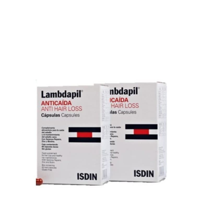 ISDIN Lambdapil Antiqueda Cápsulas Duo - 2 x 60 cápsulas - comprar ISDIN Lambdapil Antiqueda Cápsulas Duo - 2 x 60 cápsulas o...