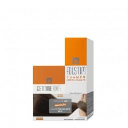 Pack Cistitone Forte + Folstim Champô Fortificante - 60 cápsulas + 200 mL - comprar Pack Cistitone Forte + Folstim Champô For...