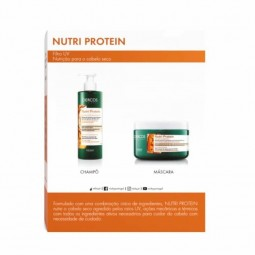 Vichy Dercos Nutrients Nutrit Champô Reconstituinte e Máscara Reconstituinte com Desconto 30% - 250ml + 250ml - comprar Vichy...