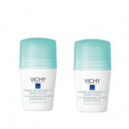 Vichy Desodorizante Roll-On Antitranspirante 48H Duo c/ Desconto 2.5€ - 2 x 50 mL - comprar Vichy Desodorizante Roll-On Antit...