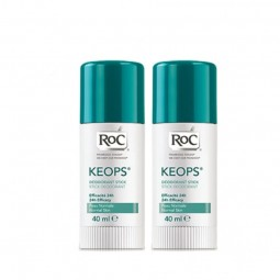 RoC Keops Stick Desodorizante Duo - 2x 40 mL - comprar RoC Keops Stick Desodorizante Duo - 2x 40 mL online - Farmácia Barreir...