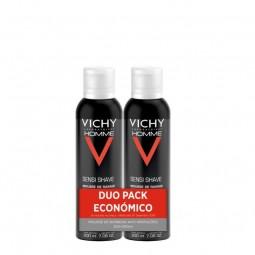 Vichy Homme Sensi Shave Mousse Barbear - 2 x 200 mL - comprar Vichy Homme Sensi Shave Mousse Barbear - 2 x 200 mL online - Fa...
