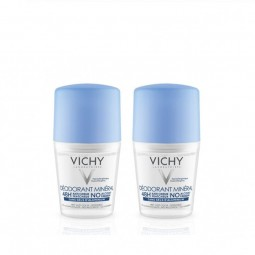 Vichy Desodorizante Mineral Roll-On Duo Pack Económico - 2 x 50 mL - comprar Vichy Desodorizante Mineral Roll-On Duo Pack Eco...