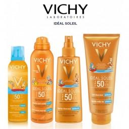 Vichy Idéal Soleil Criança Spray Sensitive SPF 50+ - 200 mL - comprar Vichy Idéal Soleil Criança Spray Sensitive SPF 50+ - 20...
