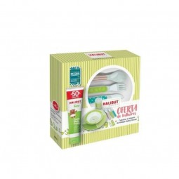 Halibut Derma Creme Muda Fraldas c/ Desconto 50% + Oferta Talheres - 150 g + 1 conjunto de talheres - comprar Halibut Derma C...