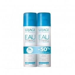 Uriage Água Termal Duo c/ Desconto 50% 2ª Unidade - 300 mL + 300 mL - comprar Uriage Água Termal Duo c/ Desconto 50% 2ª Unida...