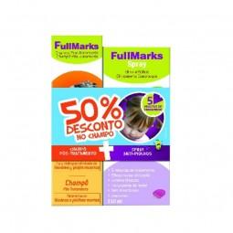 Fullmarks Pack Spray Anti-Piolhos e Anti-Lêndeas c/ Desconto 50% no Champô Pós-Tratamento - 150 mL + 150 mL - comprar Fullmar...