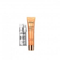 Lierac Pack Lumilogie Duplo Concentrado Dia/Noite c/ Oferta Sunissime Protetor Energizante SPF 50+ - 30 mL + 40 mL - comprar ...
