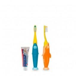 Elgydium Kit Viagem Kids - 1 escova de dentes + 7 mL - comprar Elgydium Kit Viagem Kids - 1 escova de dentes + 7 mL online - ...