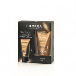 Filorga Coffret UV Bronze Fluido Facial Antienvelhecimento SPF 50+ c/Oferta After Sun - 40 mL + 50 mL - comprar Filorga Coffr...