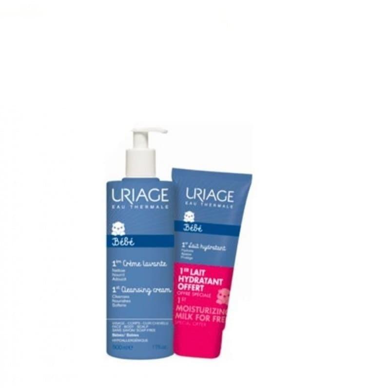 Uriage Bebé 1º Creme Lavante c/ Oferta 1º Leite Hidratante - 500 mL + 200 mL - comprar Uriage Bebé 1º Creme Lavante c/ Oferta...