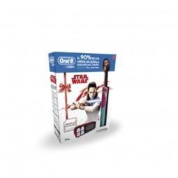 Oral B Stages Power Star Wars Escova de Dentes Elétrica c/ Oferta Estojo - 1 escova de dentes + estojo - comprar Oral B Stage...
