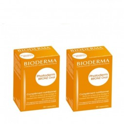 Bioderma Photoderm Bronz Oral Duo - 2 x 30 cápsulas - comprar Bioderma Photoderm Bronz Oral Duo - 2 x 30 cápsulas online - Fa...
