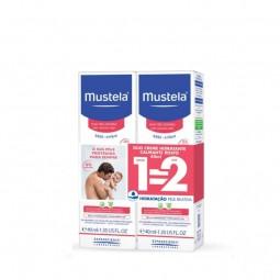 Mustela Bebé Pele Normal Creme Hidratante Calmante Rosto Duo - 2 x 40 mL - comprar Mustela Bebé Pele Normal Creme Hidratante ...