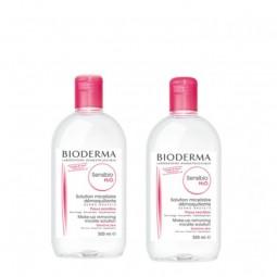 Bioderma Sensibio H2O Água Micelar Duo - 2 x 500 mL - comprar Bioderma Sensibio H2O Água Micelar Duo - 2 x 500 mL online - Fa...
