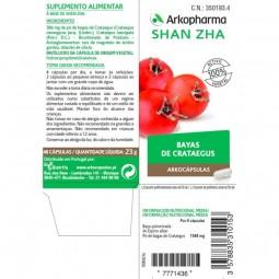 Arkopharma Arkocápsulas Shan Zha - 48 cápsulas - comprar Arkopharma Arkocápsulas Shan Zha - 48 cápsulas online - Farmácia Bar...