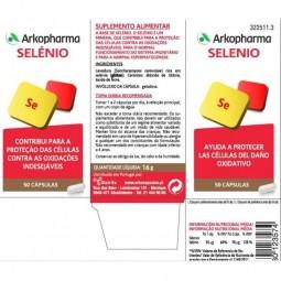 Arkopharma Arkovital Selénio - 50 cápsulas - comprar Arkopharma Arkovital Selénio - 50 cápsulas online - Farmácia Barreiros -...