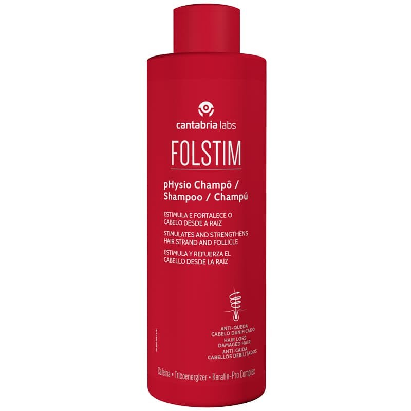 Folstim pHysio Champô Antiqueda - 400mL - comprar Folstim pHysio Champô Antiqueda - 400mL online - Farmácia Barreiros - farmá...