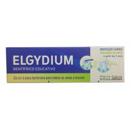 Elgydium Revelador de Placa - pasta 50ml - comprar Elgydium Revelador de Placa - pasta 50ml online - Farmácia Barreiros - far...