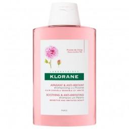Klorane Duo Champô de Peónia Suave Couro Cabeludo Irritado - Desconto de 50% na 2ª Embalagem - 2 x 400 mL - comprar Klorane D...