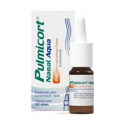 Pulmicort Nasal Aqua (120 doses), 64 mcg/dose x 1, susp pulv nasal - 1 Suspensão de pulverização nasal - comprar Pulmicort Na...