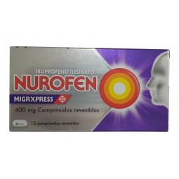 Nurofen Migrxpress - 400 mg x 12 comprimidos - comprar Nurofen Migrxpress - 400 mg x 12 comprimidos online - Farmácia Barreir...