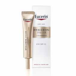Eucerin Hyaluron Filler Elasticity Contorno Olhos SPF 15 - 15mL - comprar Eucerin Hyaluron Filler Elasticity Contorno Olhos S...