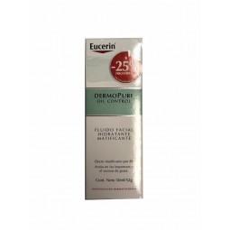 Eucerin DermoPure Oil Control Fluido Matificante com desconto 25% - 50mL - comprar Eucerin DermoPure Oil Control Fluido Matif...