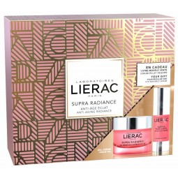 Lierac Coffret Supra Radiance Gel-creme renovador anti-ox com Oferta de Sérum iluminador de olhos - 50mL + 15mL - comprar Lie...