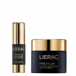 Lierac Coffret Premium Creme voluptuoso com Oferta de Creme Contorno de Olhos - 50mL + 15mL - comprar Lierac Coffret Premium ...