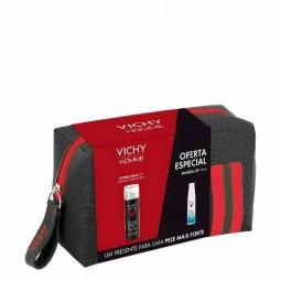 Vichy Homme Hydra Mag C+ Hidratante Antifadiga Rosto com Oferta Mineral 89 Concentrado Fortificante e Preenchedor - 50mL + 10...