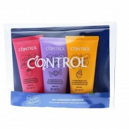 Control Sweetpleasure Kit Gel Massagem - 3 x 50 mL + Bolsa - comprar Control Sweetpleasure Kit Gel Massagem - 3 x 50 mL + Bol...