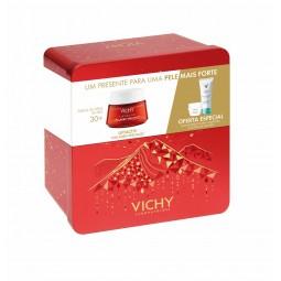 Vichy Coffret Liftactiv Collagen com Oferta de Liftactiv Hyalu Máscara + Pureté Thermale Desmaquilhante - 50mL + 15mL + 100mL...