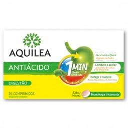 Aquilea Antiácido Menta Suplemento Alimentar - 24 comprimidos - comprar Aquilea Antiácido Menta Suplemento Alimentar - 24 com...