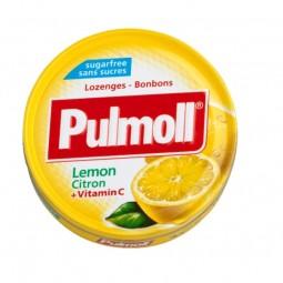 Pulmoll Pastilhas Limão Vitamina C Sem Açúcar - 45g - comprar Pulmoll Pastilhas Limão Vitamina C Sem Açúcar - 45g online - Fa...