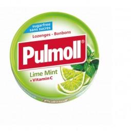 Pulmoll Pastilhas Lima- Menta Sem Açúcar - 45g - comprar Pulmoll Pastilhas Lima- Menta Sem Açúcar - 45g online - Farmácia Bar...