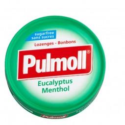 Pulmoll Pastilhas Eucalipto Mentol Sem Açúcar - 45g - comprar Pulmoll Pastilhas Eucalipto Mentol Sem Açúcar - 45g online - Fa...