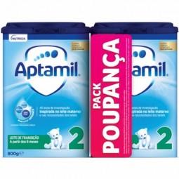 Aptamil 2 Leite Transição Duo Preço Promocional - 2 x 800g - comprar Aptamil 2 Leite Transição Duo Preço Promocional - 2 x 80...