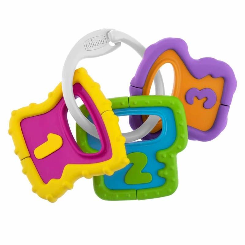 Chicco Brinquedo Chave Pega Fácil Números 3-18m - 1 brinquedo - comprar Chicco Brinquedo Chave Pega Fácil Números 3-18m - 1 b...